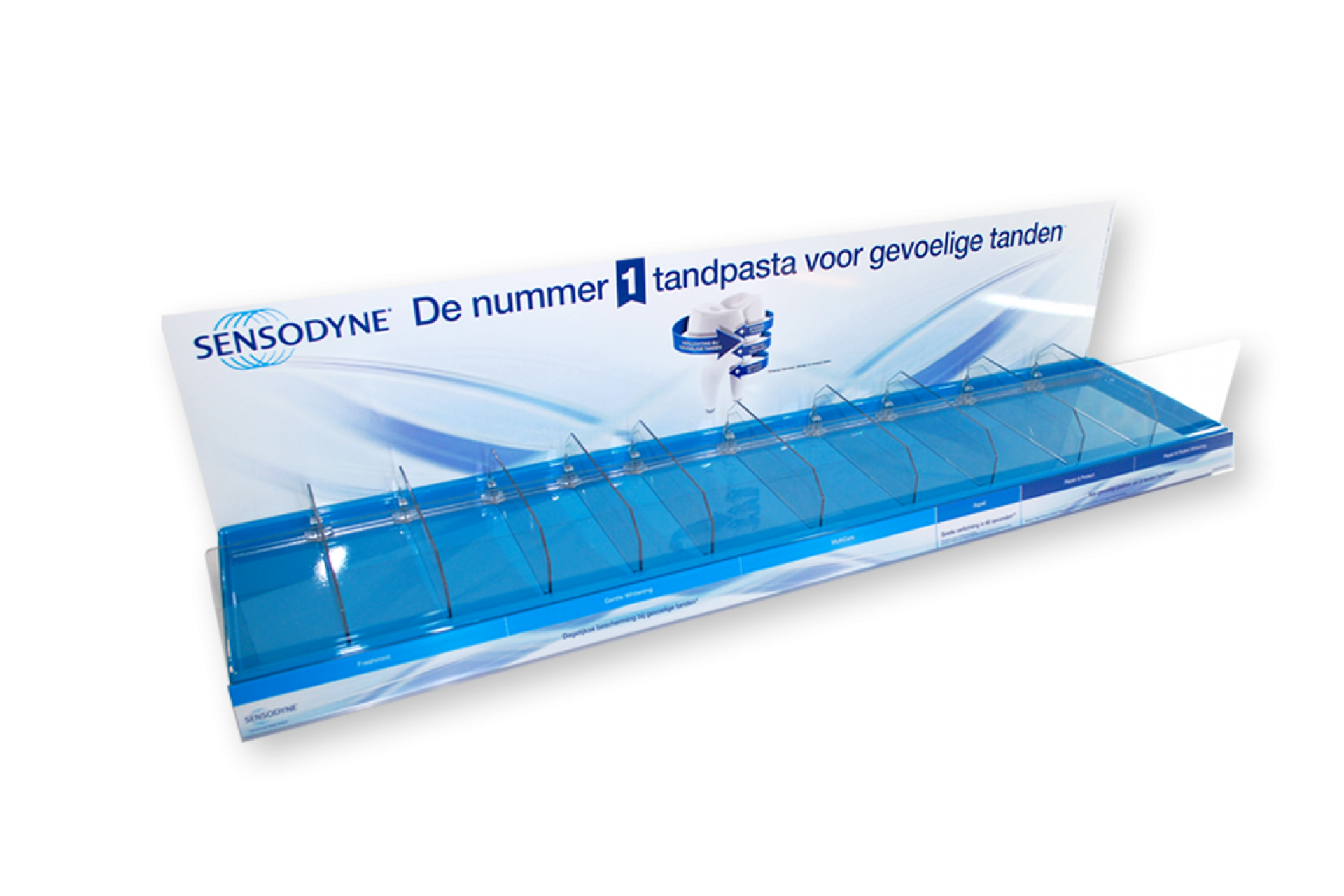 SENSODYNE - Shelf display